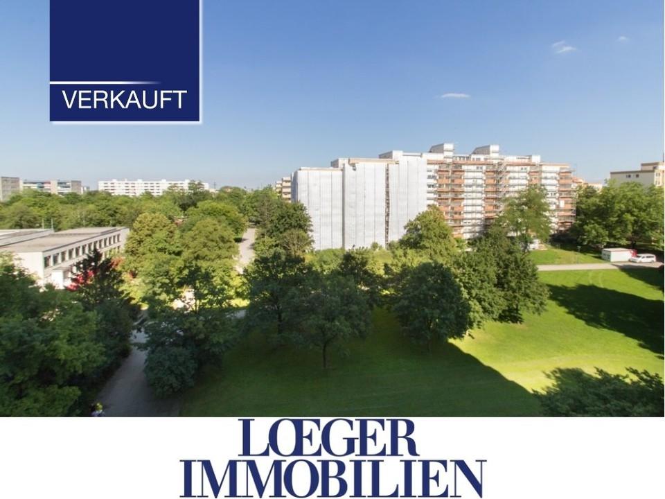 +VERKAUFT+ Blick ins Grüne – gut geschnittene 3-Zimmer-Wohnung in München-Aubing