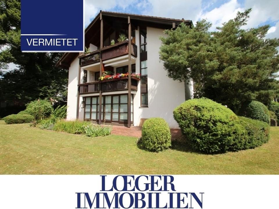 +VERMIETET+ 3-Zimmer-Dachgeschoss-Wohnung im Zentrum von Tutzing