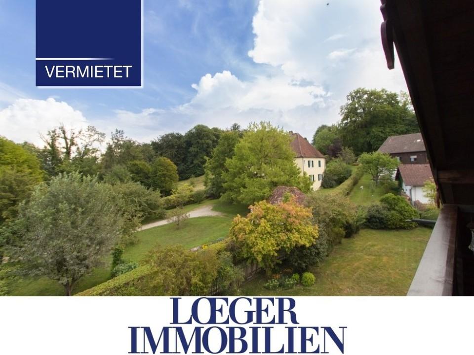+VERMIETET+ Bernried – gemütliche Dachgeschoss-Wohnung mit Blick ins Grüne