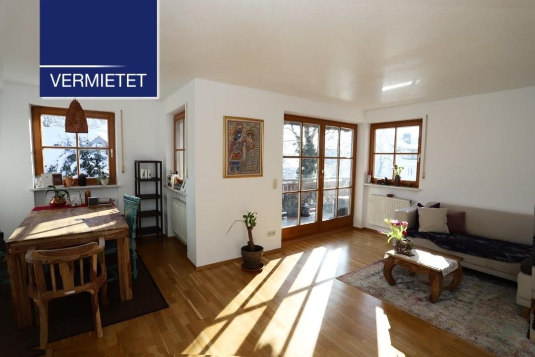 +VERMIETET+ Schöne 3-Zimmer-Wohnung mit großem Balkon in Tutzing
