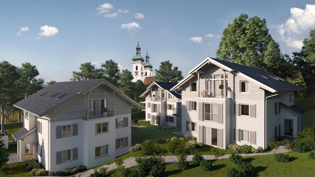 +VERKAUFT+ WOHNPARK TUTZING 3-Zimmer-Erdgeschoss-Wohnungen in Tutzing