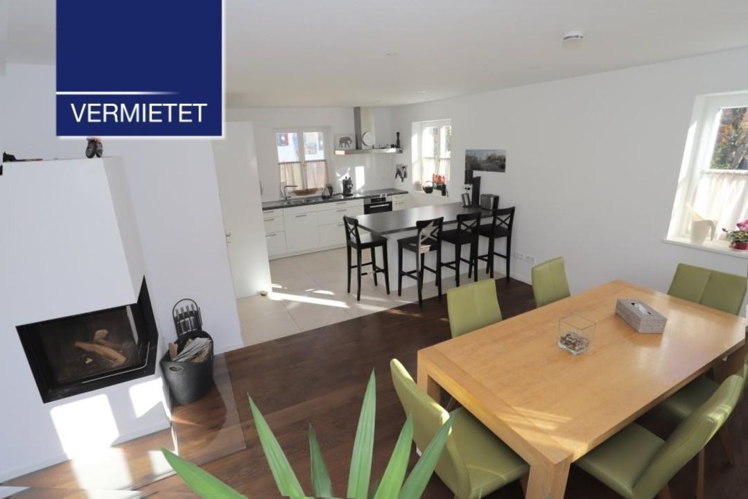 +VERMIETET+ Elegantes Einfamilienhaus mit hochwertiger EBK in Bernried