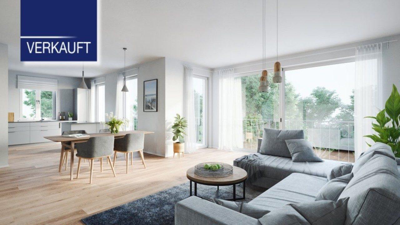 +VERKAUFT+ WOHNPARK TUTZING 3-Zimmer-Wohnungen mit großem Balkon
