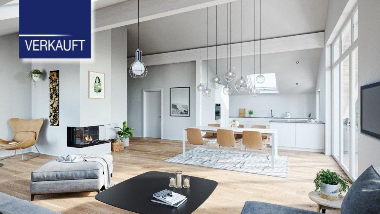 +VERKAUFT+ WOHNPARK TUTZING elegante 4-Zimmer-Dachgeschoss-Wohnungen