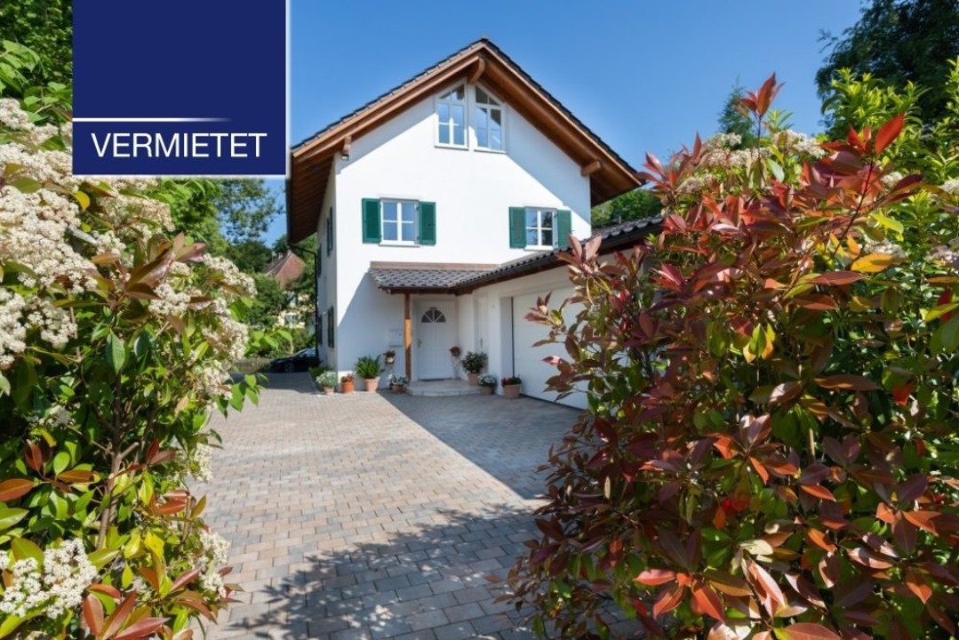 +VERMIETET+ Elegant wohnen in Seenähe – Einfamilienhaus in Bernried