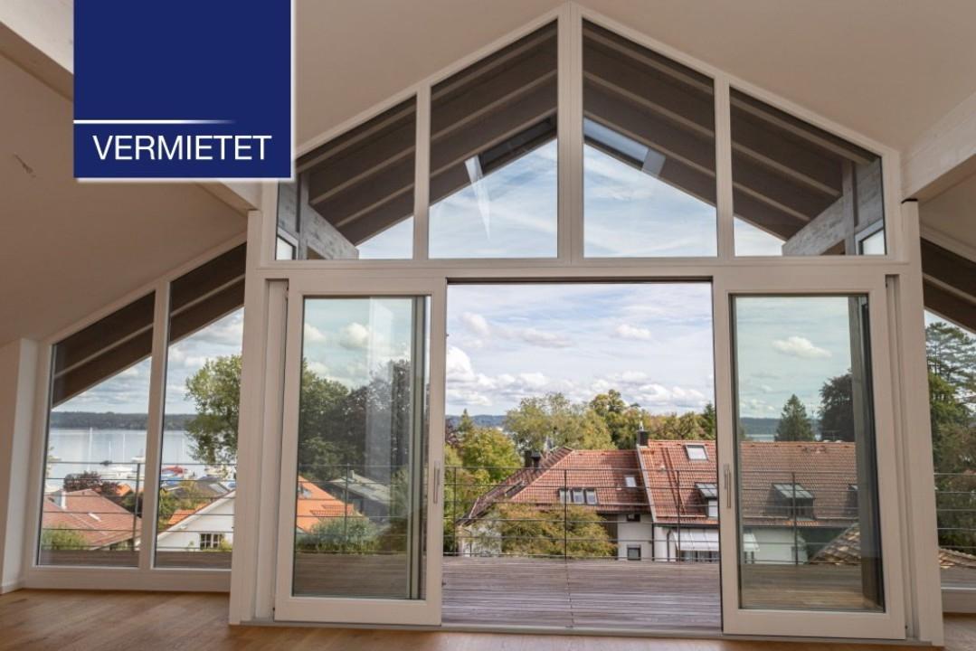 +VERMIETET+ Dachgeschoss-Wohnung mit Seeblick und Lift in Zentrumslage