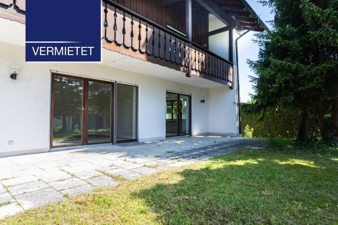 +VERMIETET+ 2-Zimmer-Erdgeschoss-Wohnung mit großem Garten