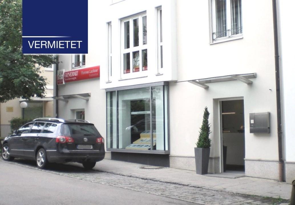 +VERMIETET+Tutzing – Ladengeschäft in Zentrumslage