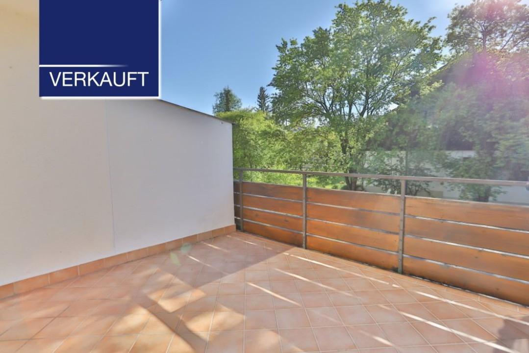 +VERKAUFT+ 3-Zimmer-Wohnung mit Westbalkon