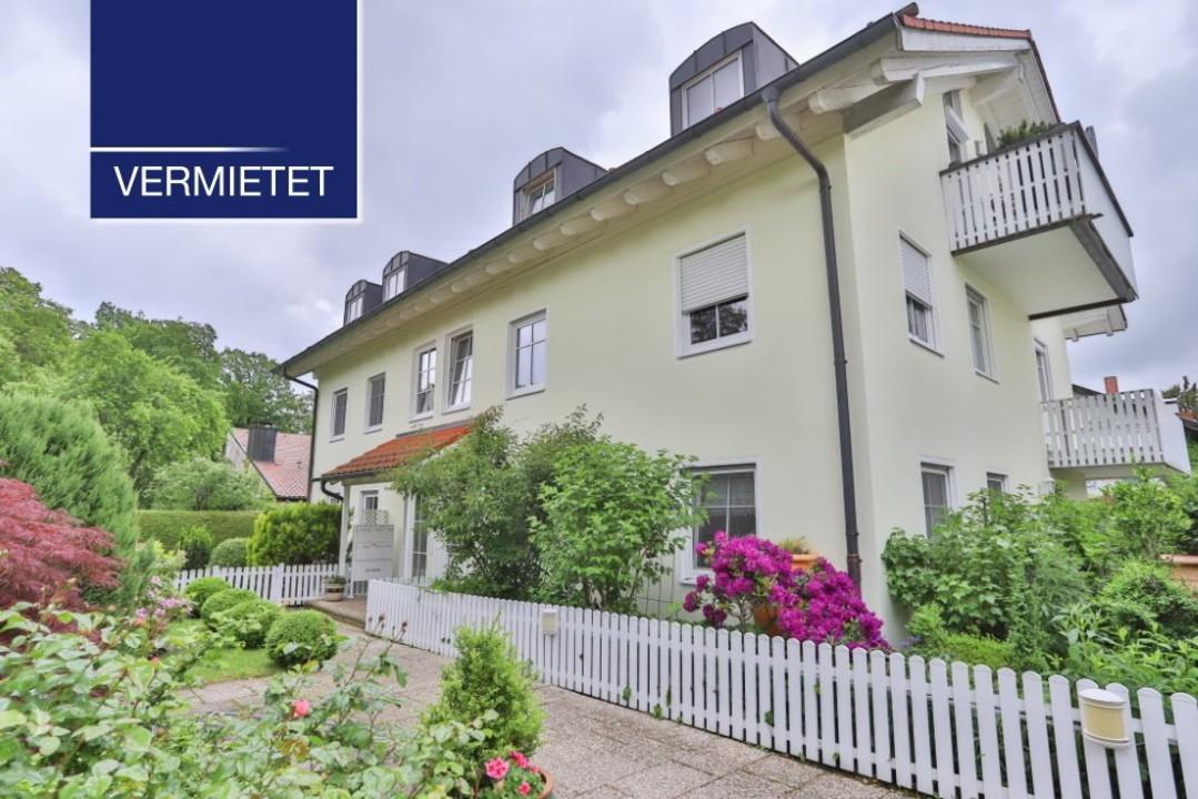 +VERMIETET+ Elegante 4-Zimmer-Dachwohnung mit 2 Balkonen