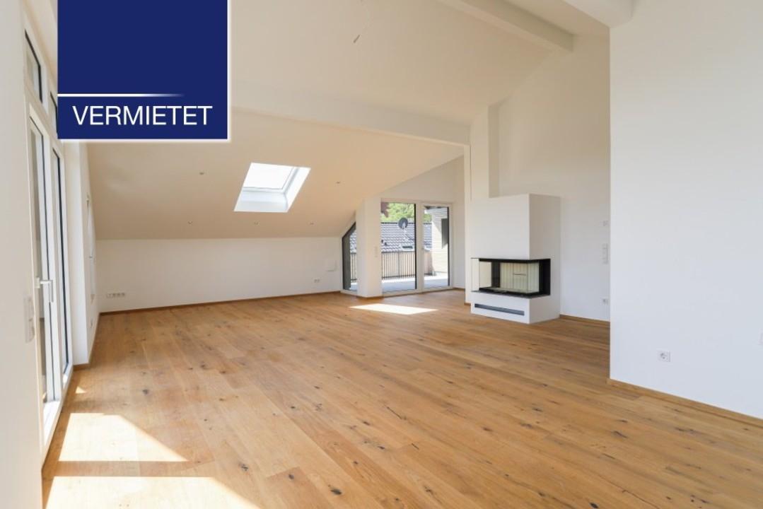 +VERMIETET+ Elegante 4-Zimmer-DG-Wohnung mit See- und Bergblick in Tutzing