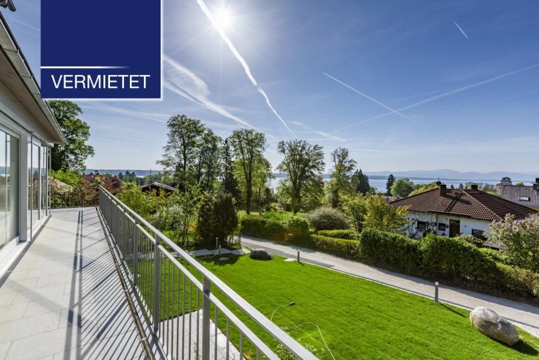 +VERMIETET+ Elegante 3-Zimmer-Wohnung mit Traumblick in Tutzing