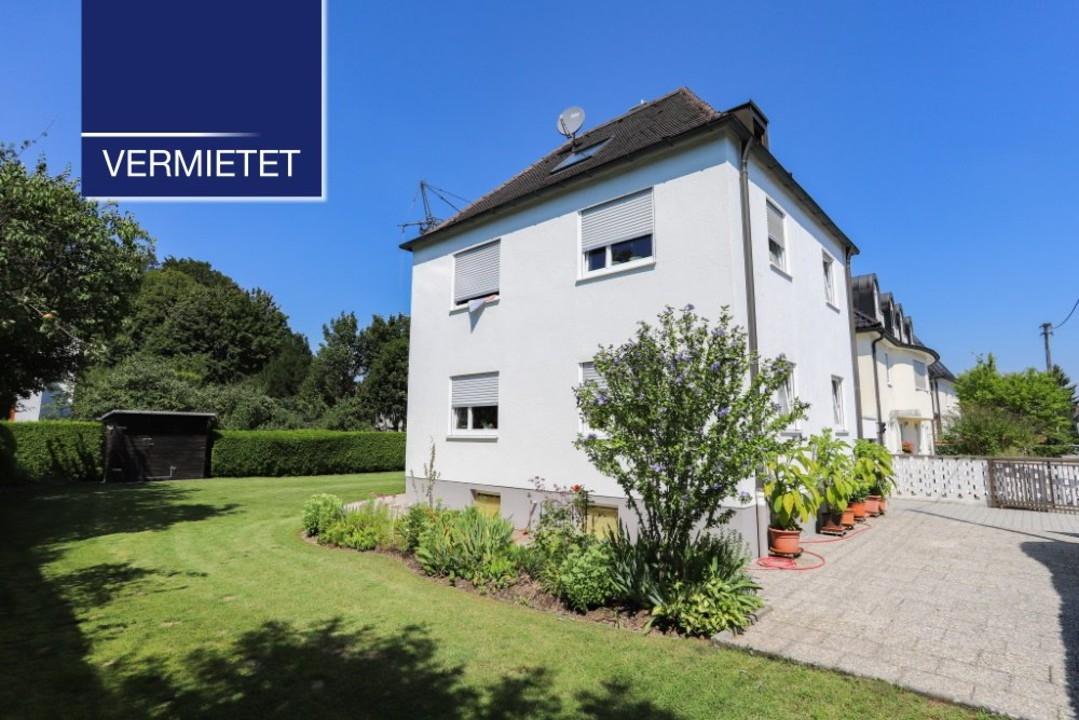 +VERMIETET+ Hadern – Kleines Familienhaus mit großem Garten