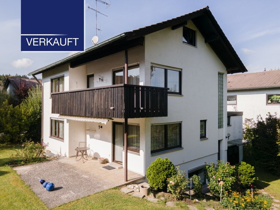 +VERKAUFT+ Familienhaus mit schönem Garten in Tutzing