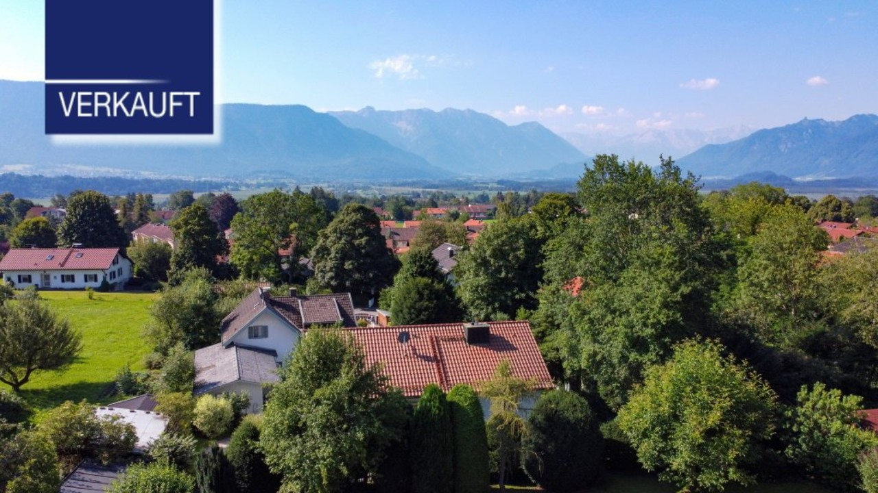 +VERKAUFT+Ein Anwesen auf der Sonnenseite von Murnau