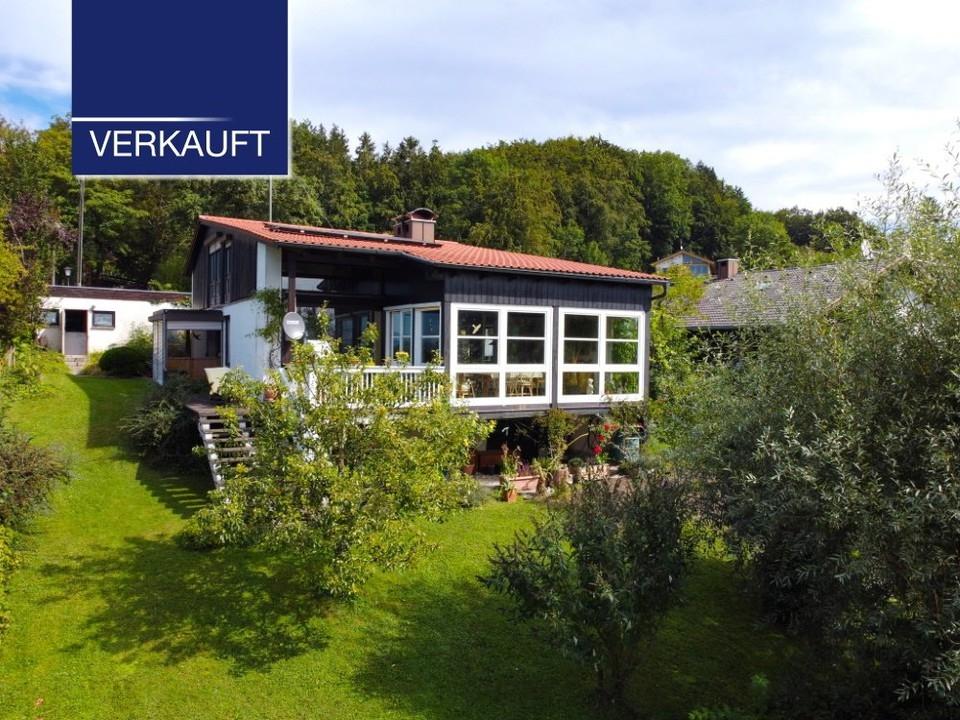 +VERKAUFT+ Tutzing-Monatshausen Ländlicher Charme mit Blick in die Alpen