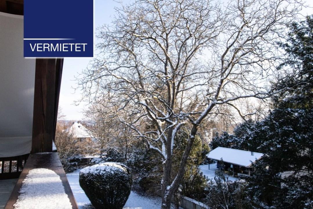 +VERMIETET+ 2-Zimmer-Dachgeschoss-Wohnung in ruhiger und zentraler Lage von Tutzing