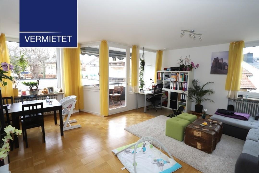 +VERMIETET+ 2-Zimmer-Wohnung unweit des Tutzinger Schlosses