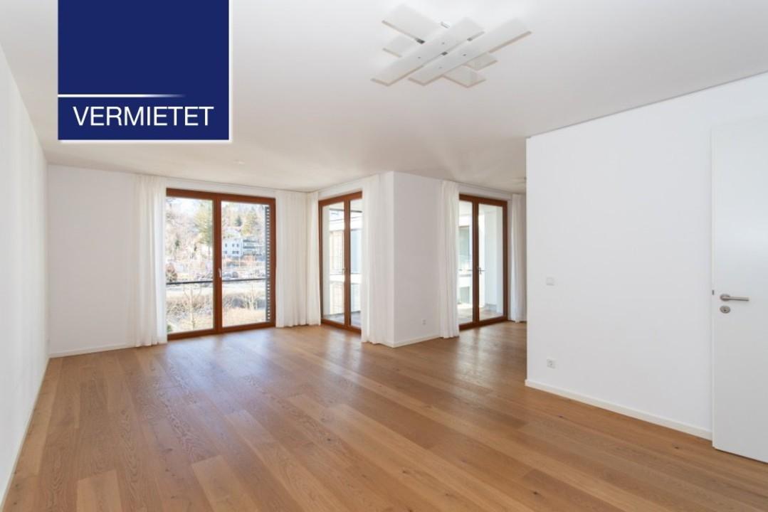 +VERMIETET+ Elegante 3-Zimmer-Wohnung mit Aufzug und kleinem Seeblick in Tutzing am Starnberger See