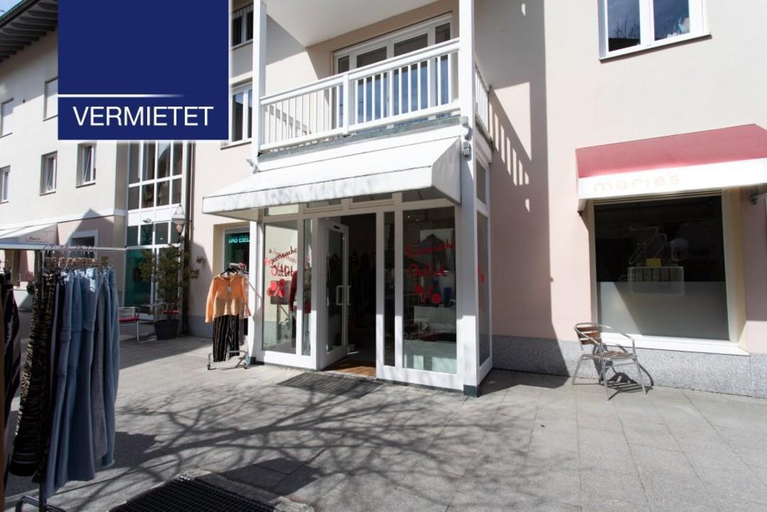 +VERMIETET+ Ladengeschäft im Zentrum von Tutzing