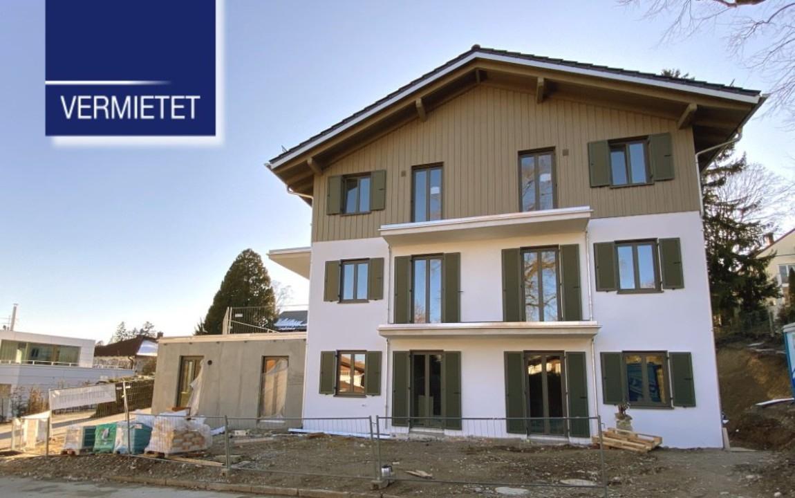 +VERMIETET+ 3-Zimmer-Erdgeschoss-Wohnung in zentraler Lage von Tutzing
