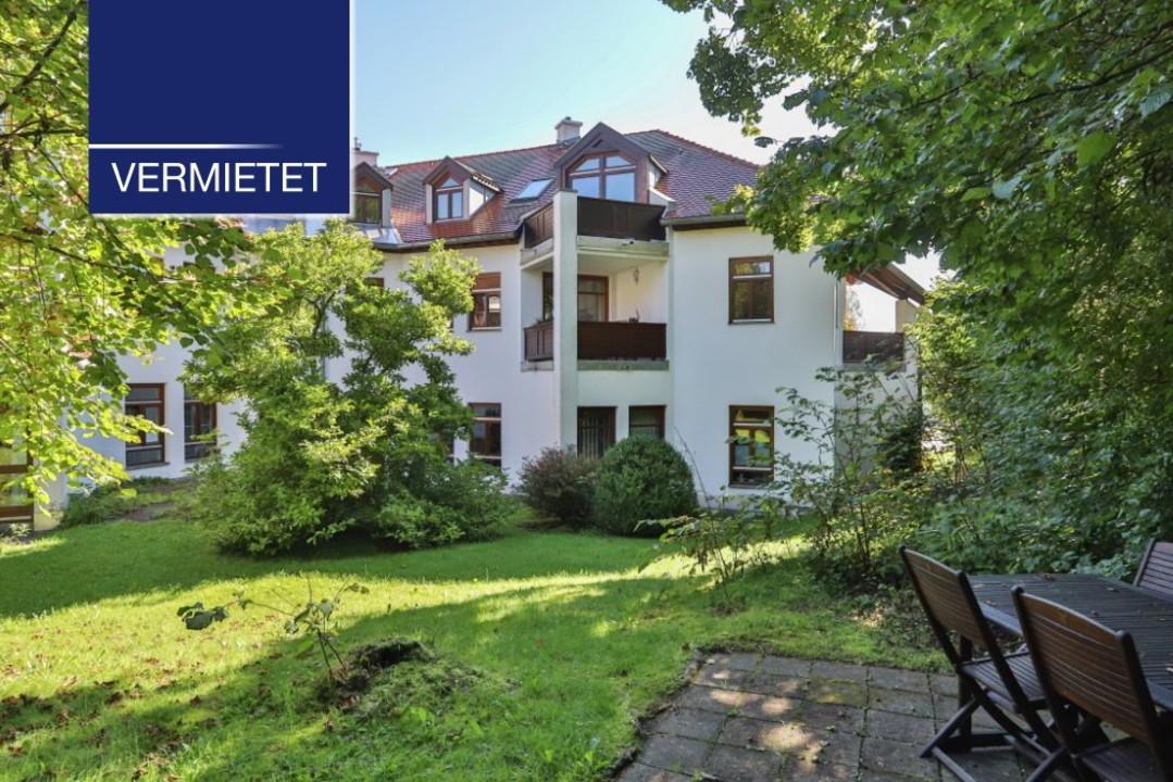+VERMIETET+ Dachgeschosswohnung in zentraler Lage mit See- und Bergblick in Tutzing